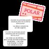 """Les participes passés à l'Affiche - Cartes """"Polar"""""""