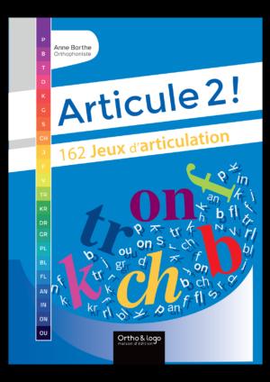 Articule 2 ! Anne Barthe d'Ortho & logo