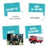 SÉMANTIX - les lieux et les métiers - Cartes Métiers
